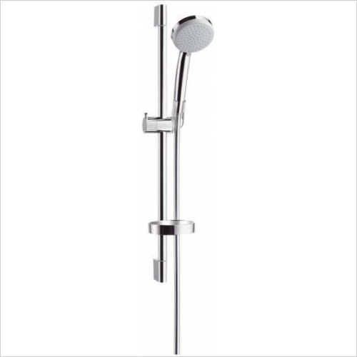 Hansgrohe Showers - Croma 100 1 Jet EcoSmart U'C Set 650mm