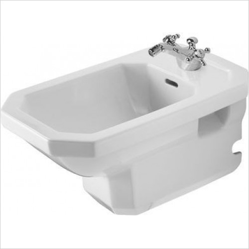 Duravit Bidets - 1930 Series Bidet Wall Mounted 580mm 1TH