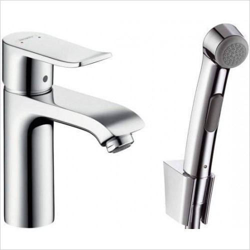 Hansgrohe Taps - Metris Bidette Set with Hand Shower