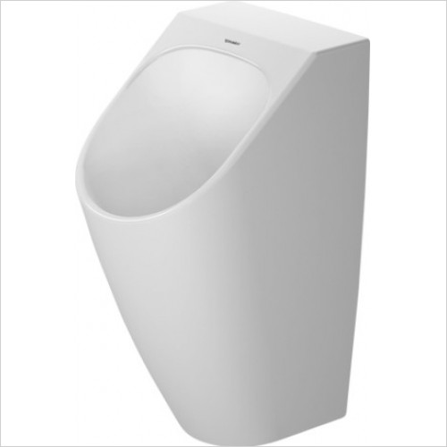 Duravit - Toilets - Me By Starck Urinal Waterless, Horizontal Outlet,Odour Trap