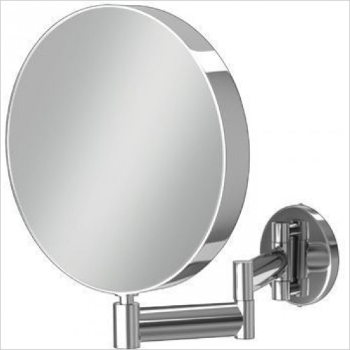 HIB Accessories - Helix Round Magnifying Bathroom Mirror Ø20cm