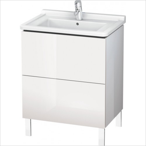 Duravit Furniture - L Cube Vanity Unit Freestanding 670, F 030470, 2 Drawer