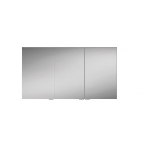 HIB Furniture - Eris 120 Bathroom Mirror Cabinet - Triple Door