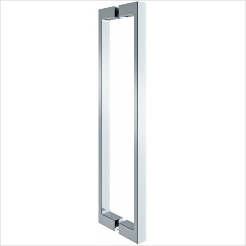 Merlyn Shower Enclosures - 10 Series Pivot Door & Inline Panel 1200mm Incl MStone Tray