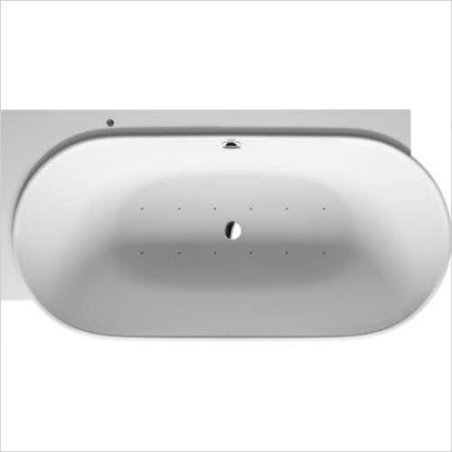 Duravit Baths - Whirltub Luv 1850x950mm Corner Right Air System