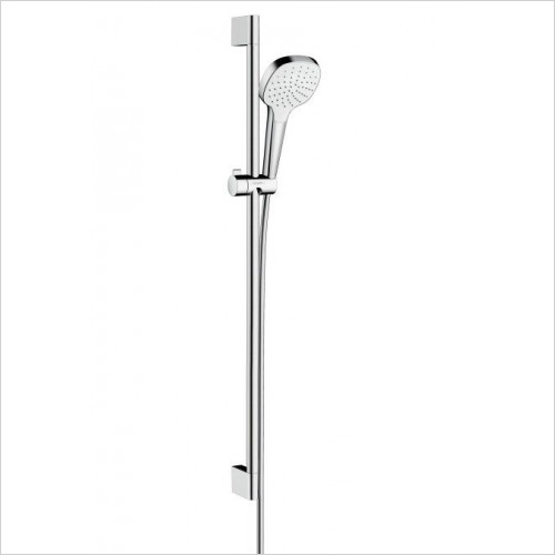 Hansgrohe Showers - Croma Select E 1 Jet Unica Shower Set with Rail 90cm
