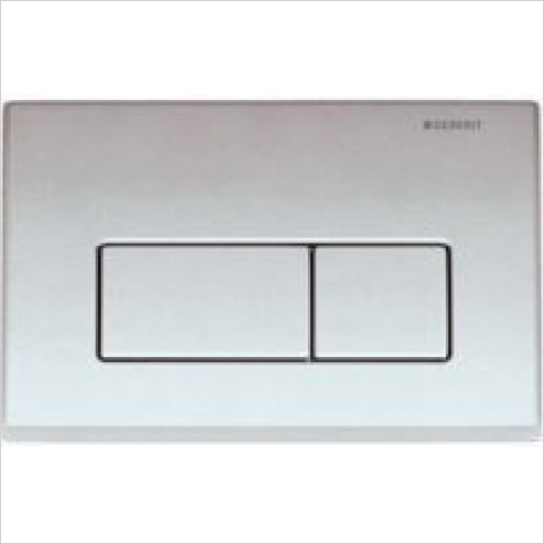 Geberit Optional Extras - Flush Plate Kappa50 For Dual Flush