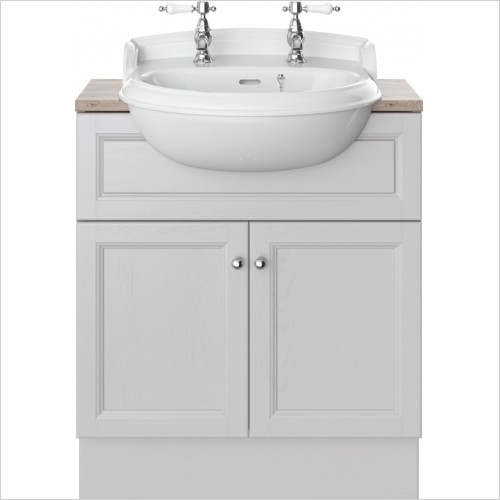 Heritage Furniture - Caversham 700mm Vanity Unit