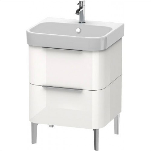 Duravit Furniture - Happy D.2 Vanity Unit Freestanding 575, F 231860, 2 Drawer