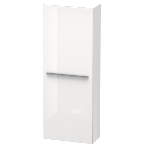 Duravit Furniture - X-Large Tall Cabinet 1320x500x238mm Hinge On Left