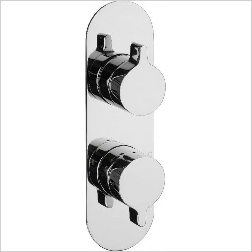 Crosswater Showers - Svelte Thermo Shower Valve 3 Way Diverter