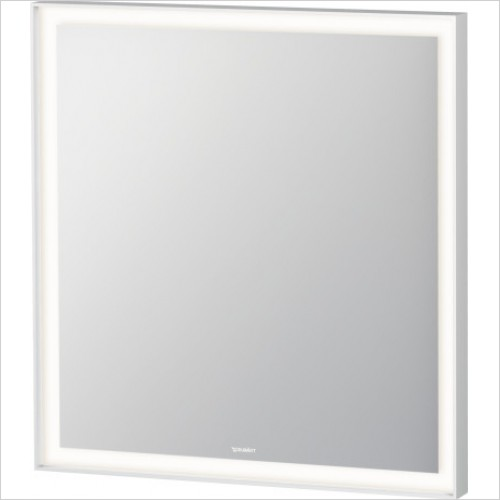 Duravit Accessories - L-Cube Bathroom Mirror With Lighting 700x650x67mm