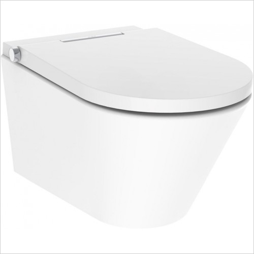 Crosswater Toilets - Axent One Wall Hung Bidet Toilet Rimless