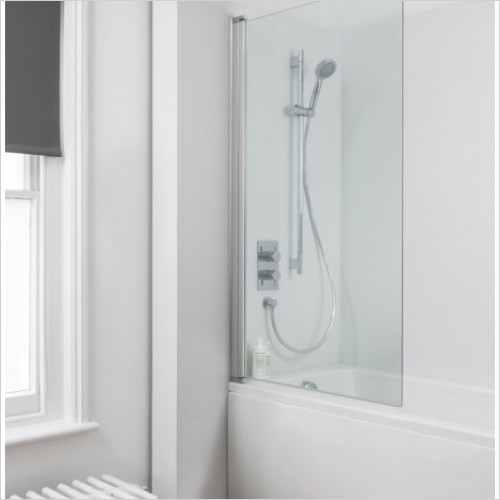 Simpsons Shower Enclosures - Click Single Bath Screen