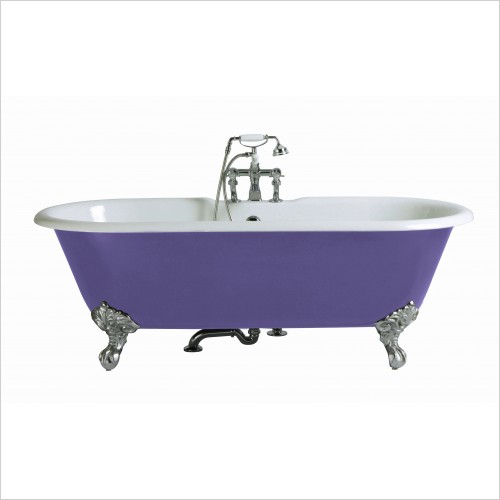 Heritage Bathtubs - Buckingham 1700 x 770mm Cast Iron Roll Top Bath 2TH