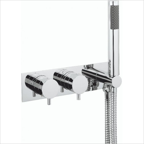 Crosswater Showers - Kai Lever Thermo Shower Valve 3 Control (Landscape)