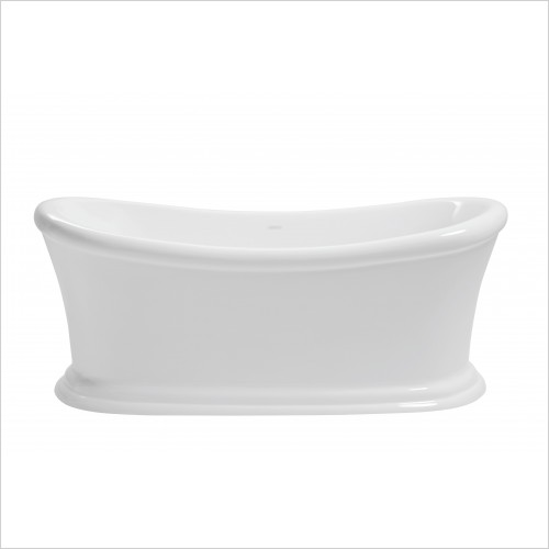Heritage Bathtubs - Orford Double Ended Freestanding Acrylic Bath 1700 x 740mm