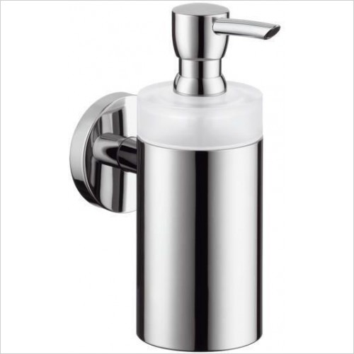 Hansgrohe - Accessories - Logis Glass Bathroom Cloakroom Lotion Soap Dispenser