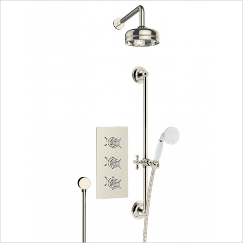 Heritage Showers - Dawlish Dual Control  Recessed Valve