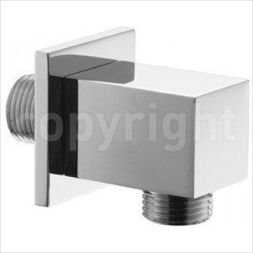 Crosswater Showers - Square Wall Outlet