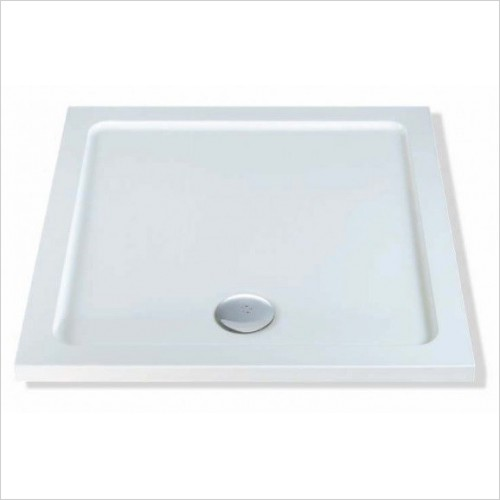 MX Shower Trays - Elements Low Profile 900 x 900mm Square Tray