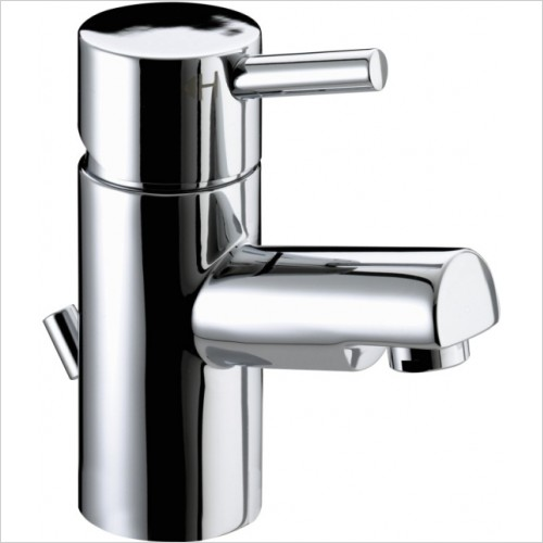 Bristan Taps - Prism Basin Mixer With Eco-Click & Pop Up Waste