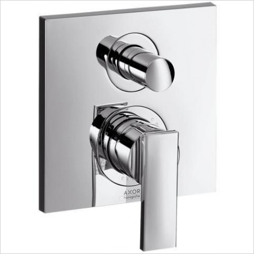 Axor Taps - Citterio Finish Set With Integrated Safety Combination