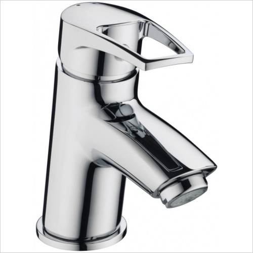 Bristan Taps - Smile Basin Mixer With Clicker Waste
