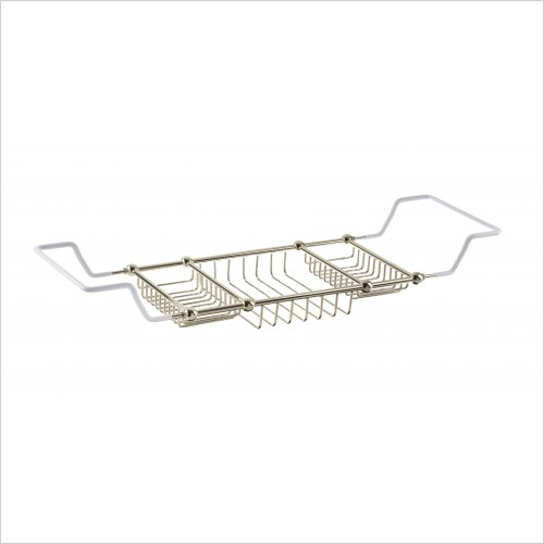 Heritage Accessories - Bath Rack 50x210x640-820mm