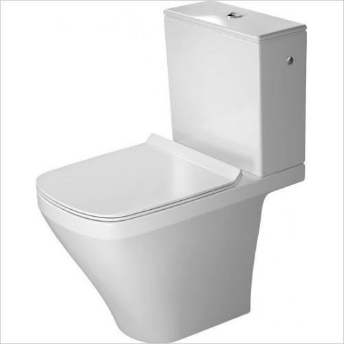 Duravit - Toilets - DuraStyle Toilet Close Coupled 630mm Projection