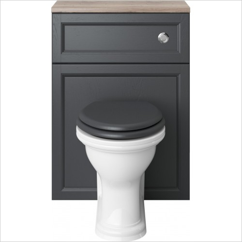 Heritage Toilets - Dorchester Back To Wall WC Pan