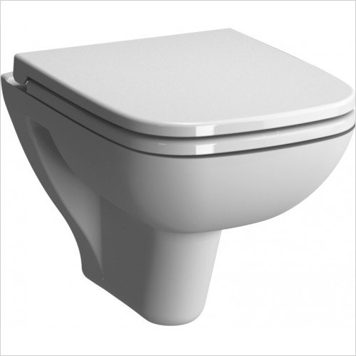 Vitra Toilets - S20 Wall Hung 48cm Short Projection WC Pan