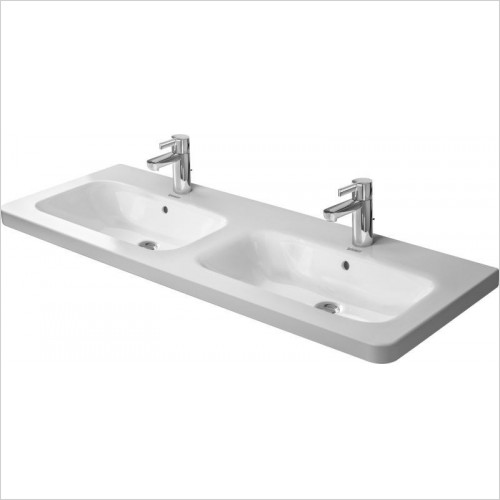 Duravit - Basins - DuraStyle Double Furniture Washbasin 1300mm 1TH