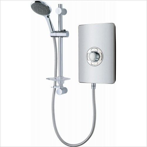 VADO Showers - Elegance Fashion LED Modern Design Electric Shower 8.5kW