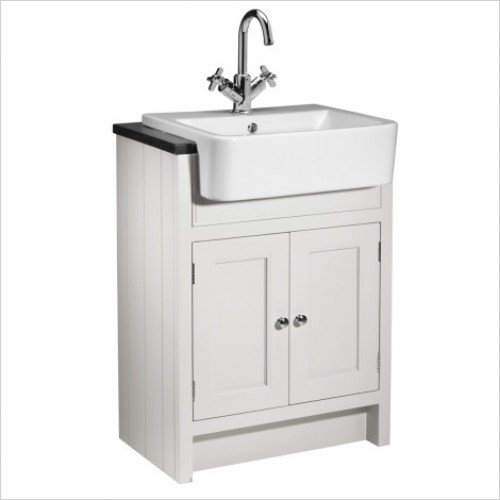 Roper Rhodes Furniture - Hampton 600mm Semi Countertop Bathroom Unit in White
