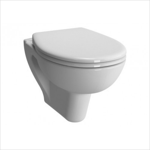 Vitra Toilets - Commercial Arkitekt Wall-Hung WC Pan - Rimless