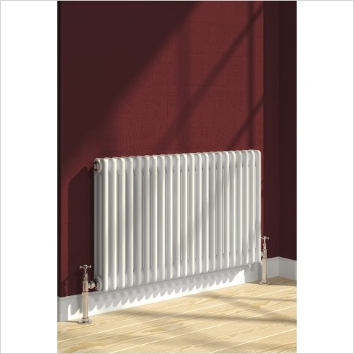 Reina Radiators - Colona 2 Column Radiator 600 x 605mm - Electric