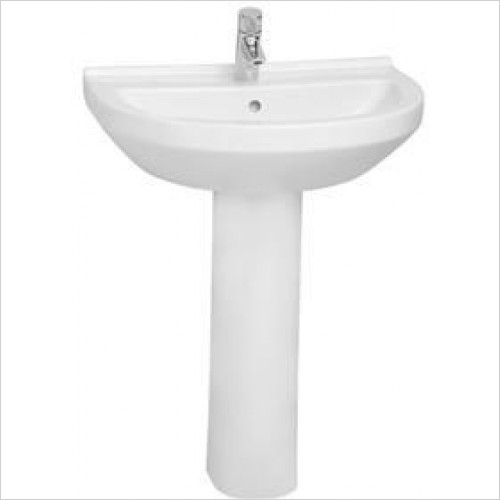 Vitra Basins - S50 Round Basin 65 x 49cm 1TH