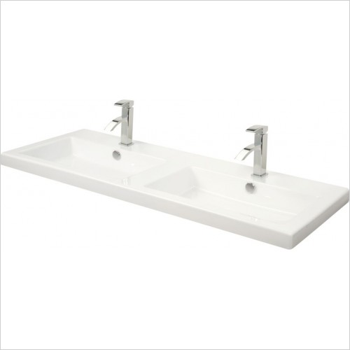 Miller Optional Accessories - London/New York Basin Rectangular For 566/266 Vanity 121cm