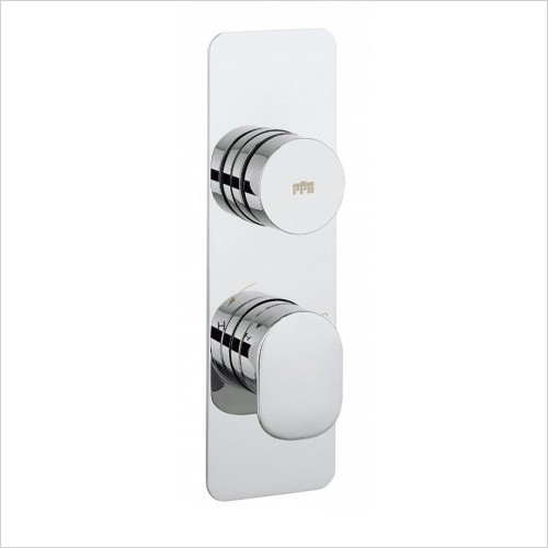 Crosswater Showers - Dial Valve 1 Control With Pier Trim