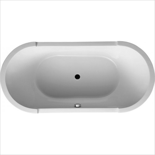 Duravit Baths - Starck Oval Bathtub 1900x900mm Freestanding Version