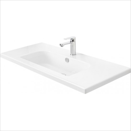 Miller Optional Accessories - London/New York Basin D Shaped For 598/298 Vanity 101cm
