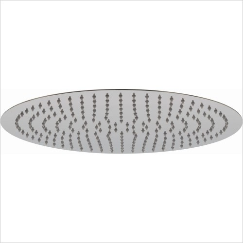 VADO Showers - Aquablade Slimline Round Shower Head, 400mm (16'')