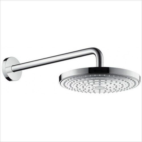 Raindance Select S 240 2 Jet Overhead Shower Head Inc Arm