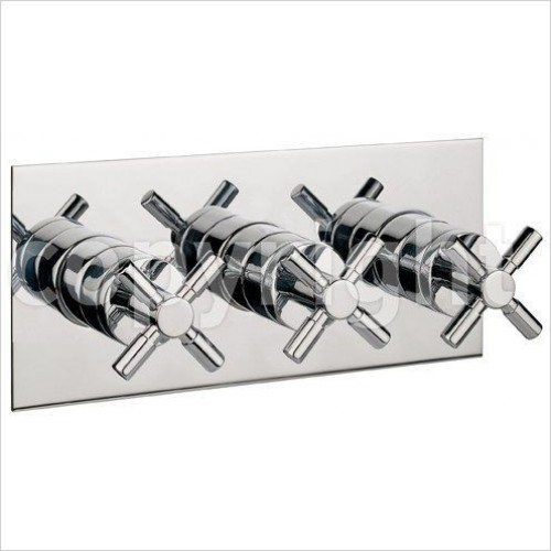 Crosswater Showers - Totti Thermostatic Shower Valve With 3 Way Diverter