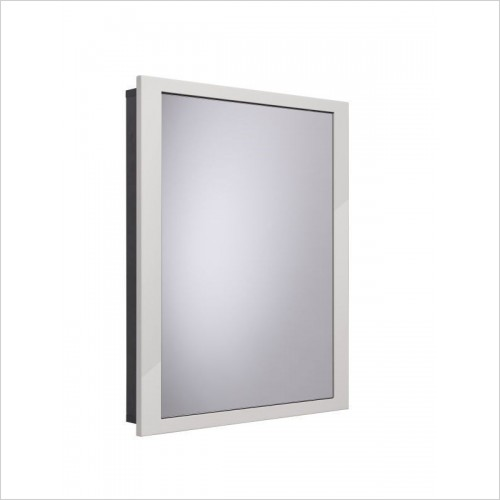 Scheme 600 x 75mm  Mirror Bathroom Cabinet