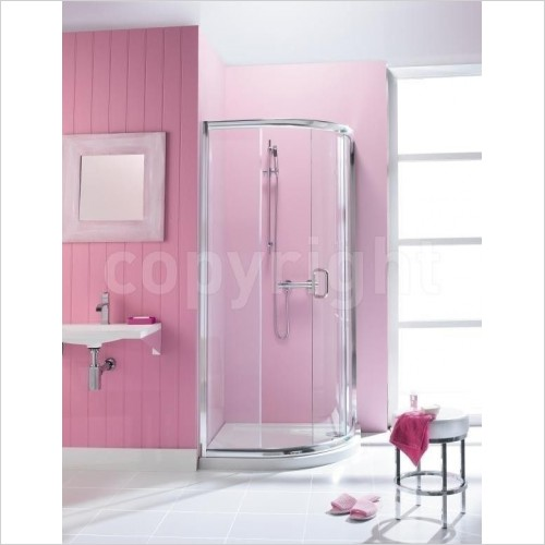 Crosswater Shower Enclosures - Supreme Quadrant Single Door