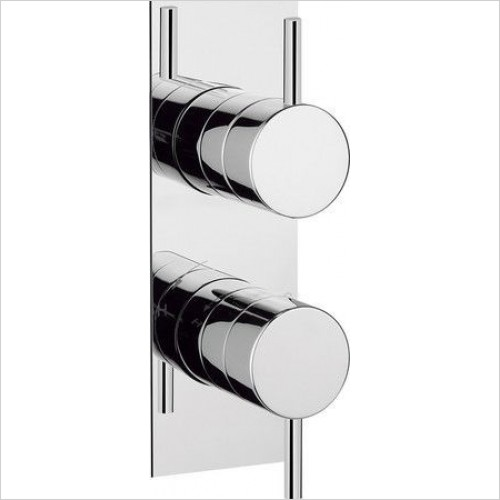 Crosswater Showers - Kai Lever Thermostatic Shower Valve Slim