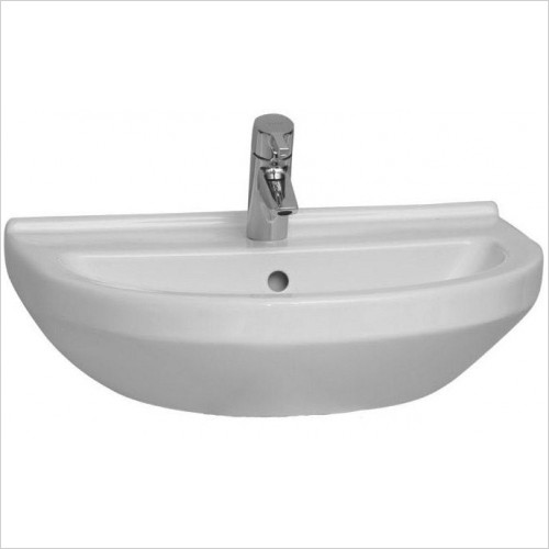 Vitra Basins - S50 Round Basin 60 x 46cm 1TH