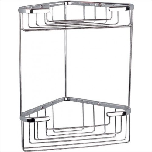 Miller Accessories - Classic 2-Tier Corner Basket